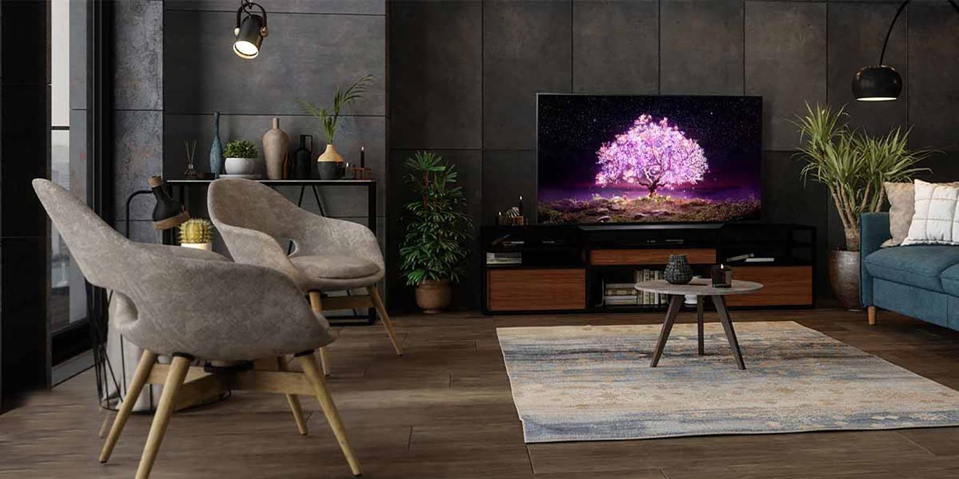 تلویزیون 55C1: یک اثر کاملا هنری