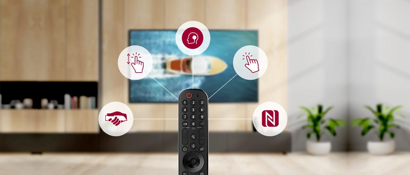 سایر امکانات هوشمند تلویزیون ال جی 77G1