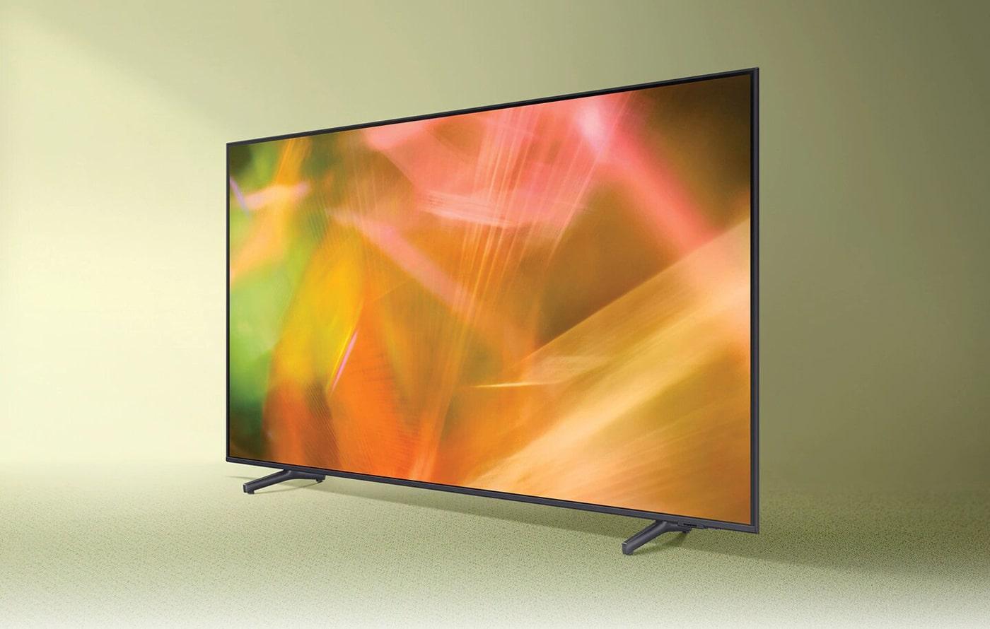 تلویزیون سامسونگ 65AU8000 با کیفیت تصویر 4K و فناوری کریستال