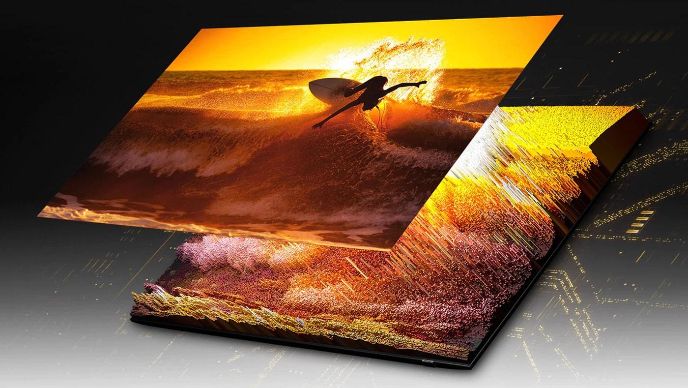 با تلویزیون 75QN90A تجربه دیداری جادویی را خواهید داشت !!